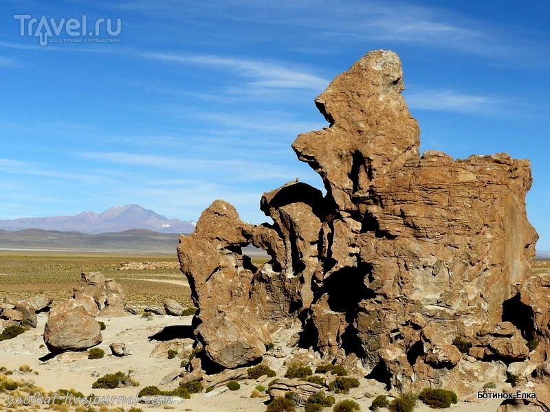 Un gran viaje a America del Sur. Боливия. Выход в космос. Каменные обитатели Вайе де Рокас / Фото из Боливии
