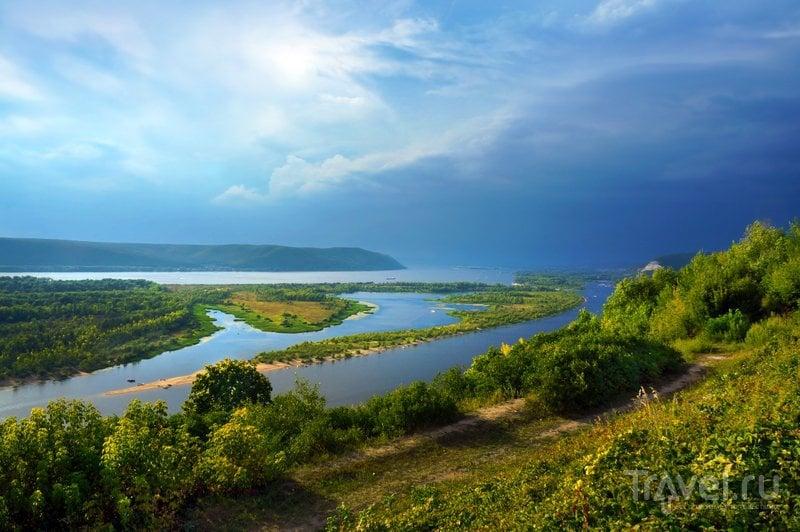 Самарская Лука летом