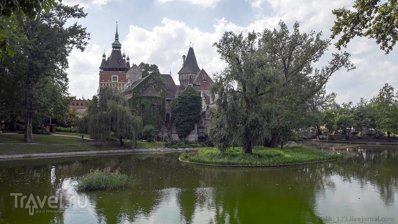 В будапештском парке Варошлигет / Фото из Венгрии