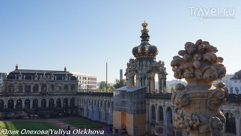 Дрезден - дворцово-архитектурный комплекс Цвингер (Zwinger) / Фото из Германии