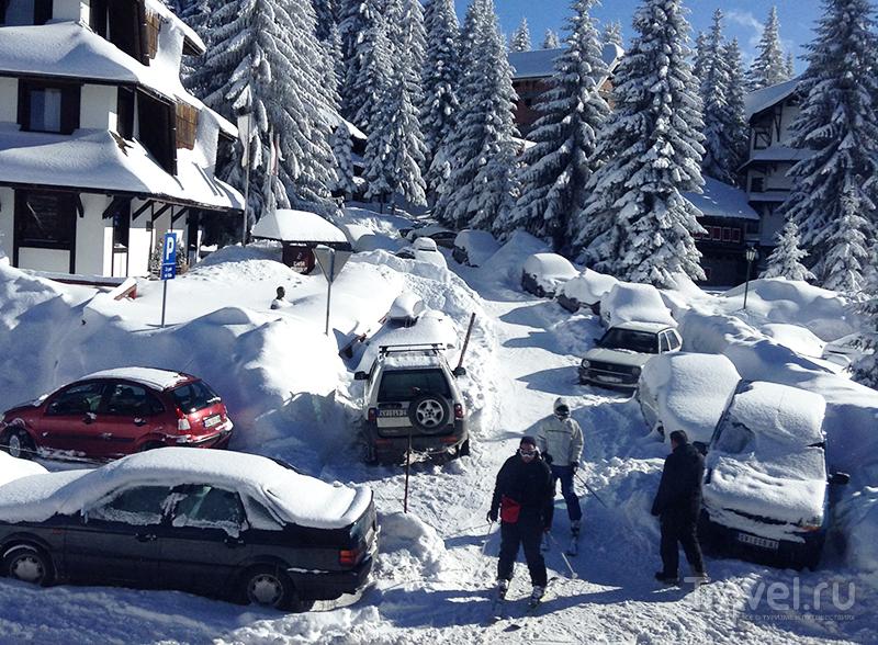 С трасс до отеля - не снимая лыж  / Фото из Сербии