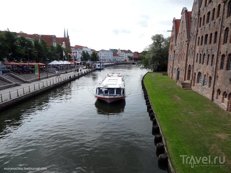Ганзейский Любек: Голштинские ворота и Старый город / Германия