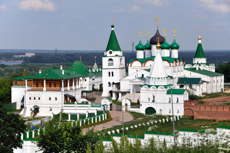Печерский монастырь в Нижнем Новгороде