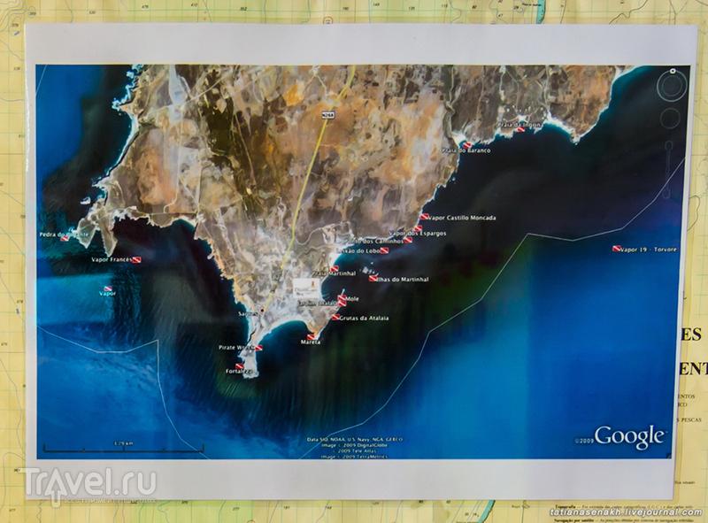Не серфом единым или есть ли дайвинг в Португалии / Португалия