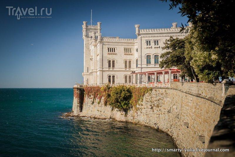 Италия: Замок Мирамаре / Фото из Италии