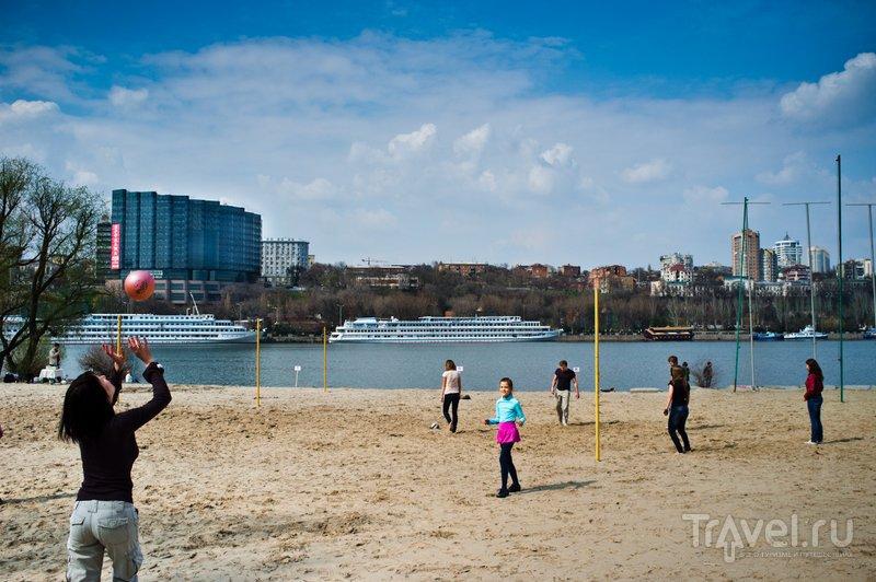 Пляж на левом берегу Дона
