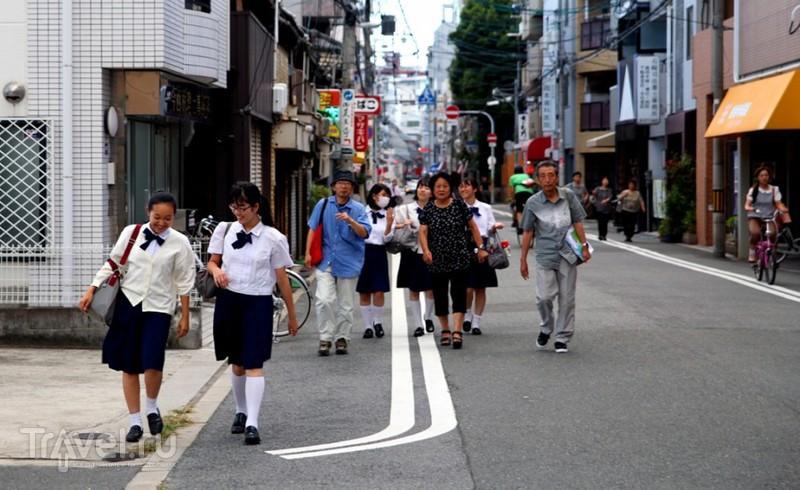 Осака. Храм Ситеннодзи / Япония