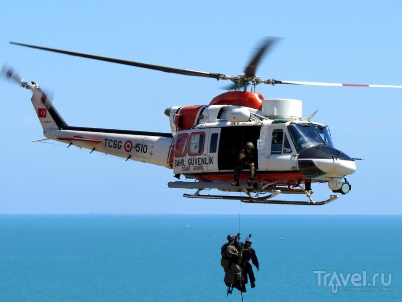 Спасение туриста по-голливудски. Анталья / Турция