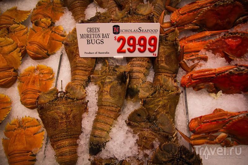 Рыбный рынок в Сиднее / Австралия