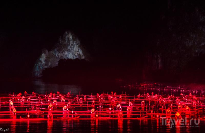 Китай: шоу на реке Ли - Impression Sanjie Liu Show / Китай