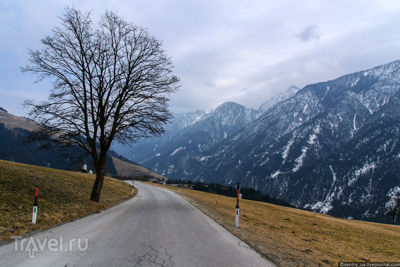 Пустертальская горная дорога, Восточный Тироль / Фото из Австрии