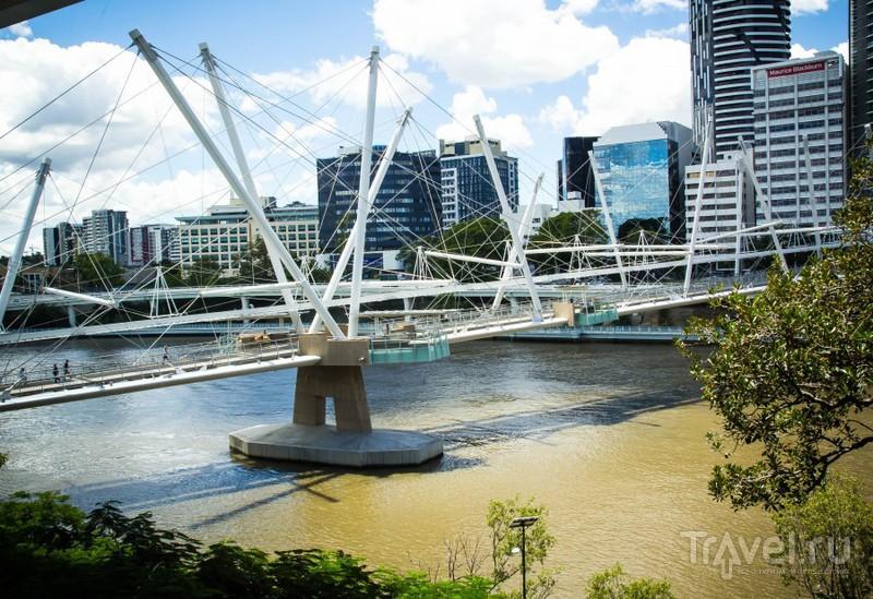 Прогулка вдоль реки в Брисбене и кафе в музее / Австралия