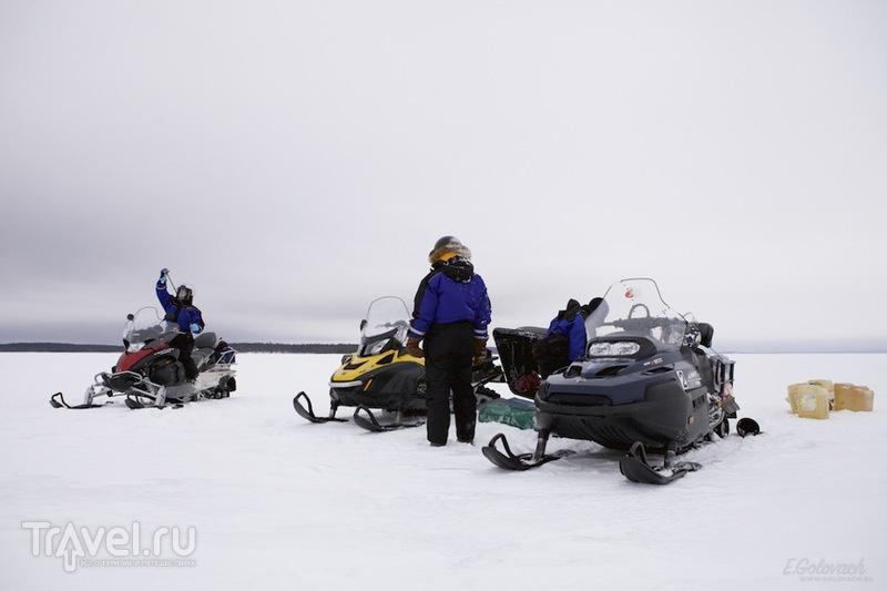Снегоходный тур в Карелии / Россия