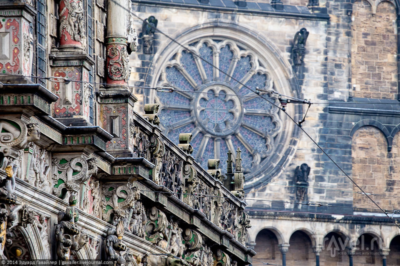 Бремен - дворцов заманчивые своды / Фото из Германии
