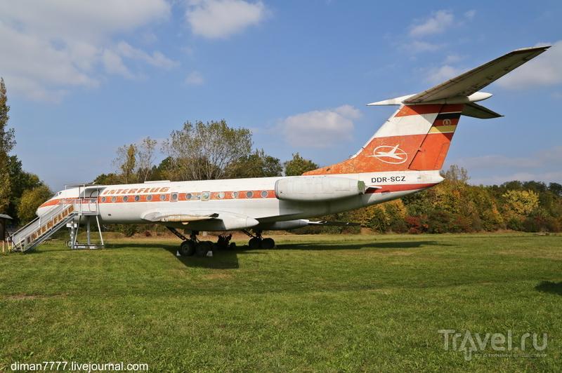 Авиационный музей в  Мерзебурге / Германия