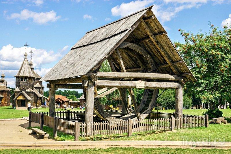 В суздальском музее деревянного зодчества