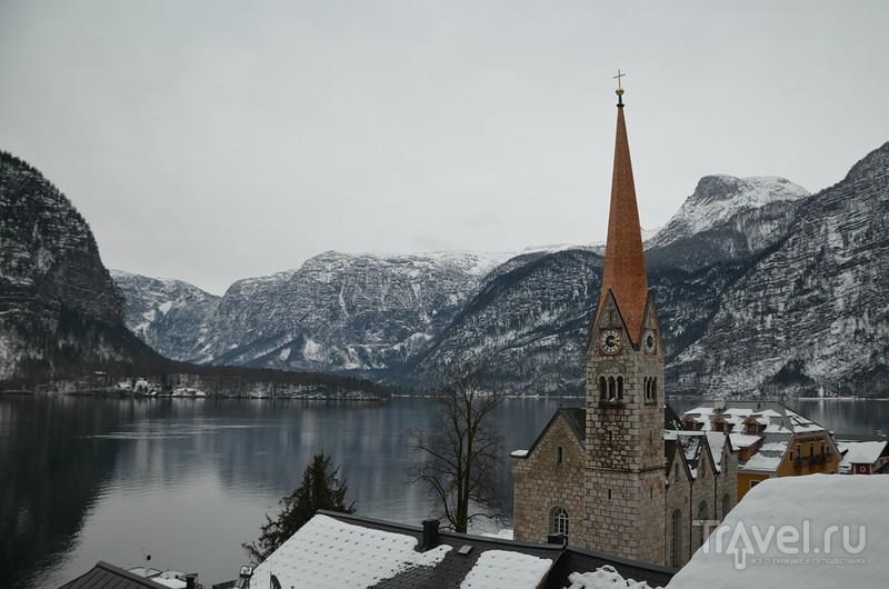 Обертраун - деревня в Австрии / Австрия