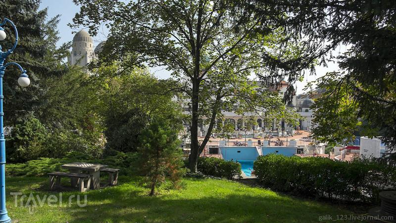 Будапештская купальня Геллерт / Фото из Венгрии