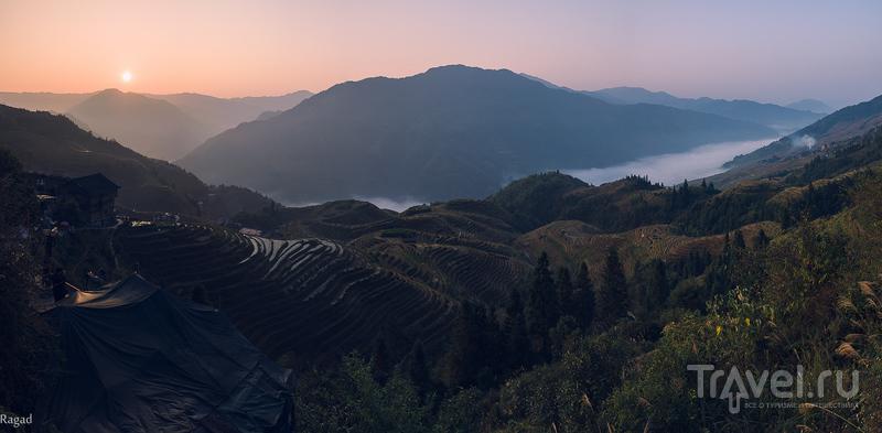 Рисовые террасы Longsheng / Китай