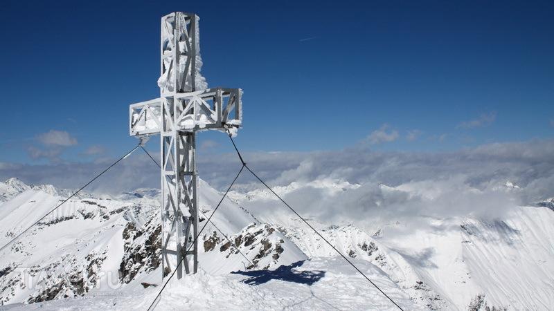 Горный пейзаж в Ски Амаде