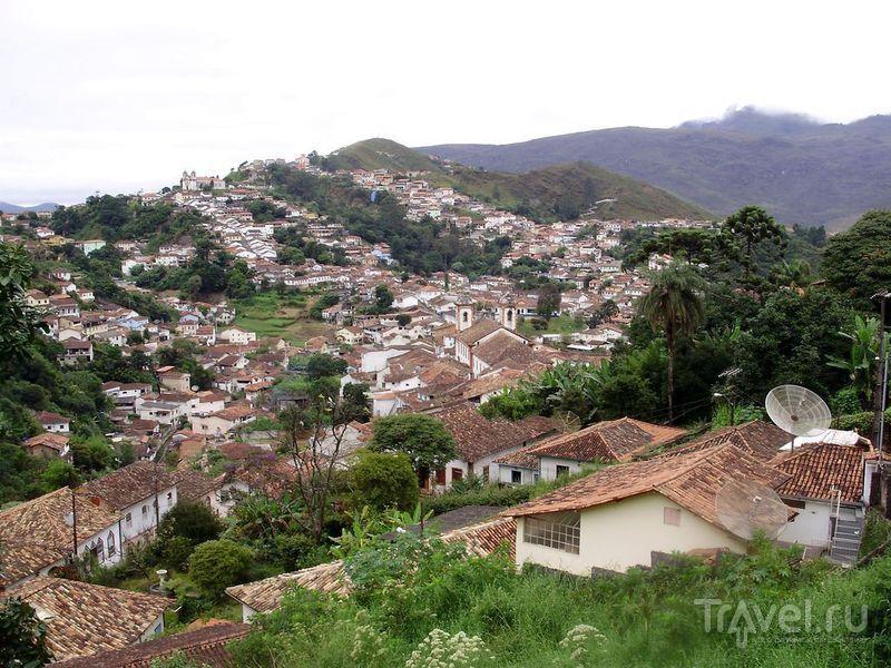 Колониальные города Минас-Жерайса - Диамантина, Оро-Прето, Мариана / Фото из Бразилии