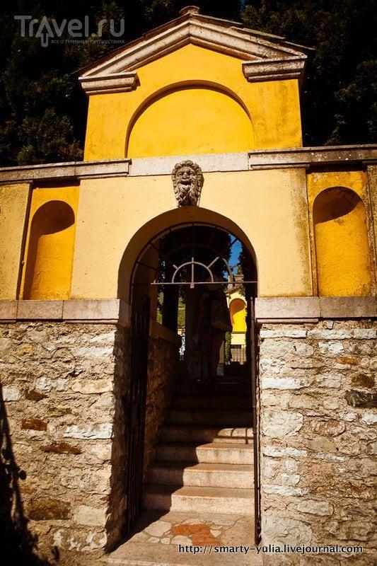 Озеро Гарда: Вилла Витториале / Фото из Италии