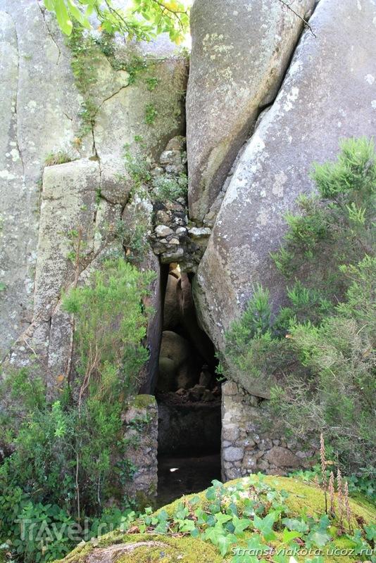 Синтра - Монастырь капуцинов / Португалия