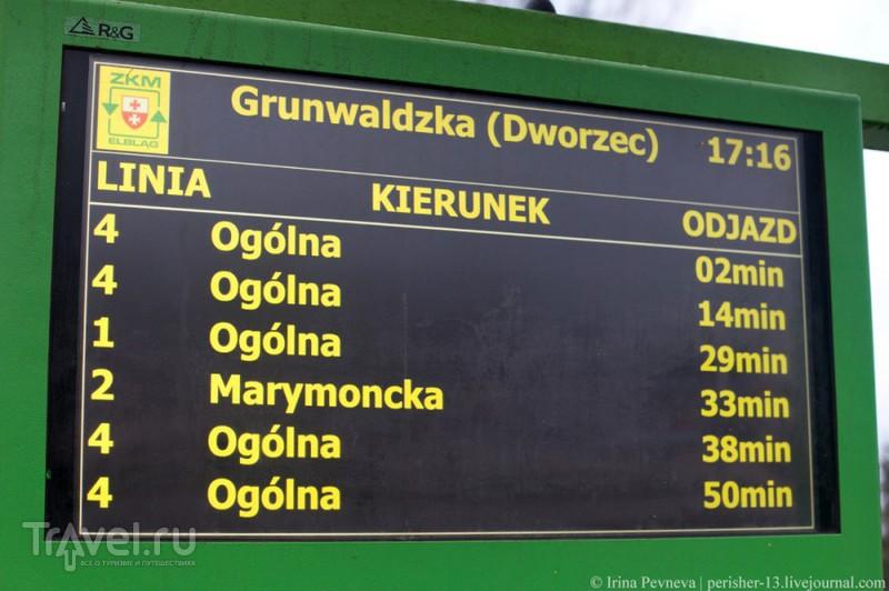 Трамвайное путешествие по Эльблонгу. Польша / Фото из Польши