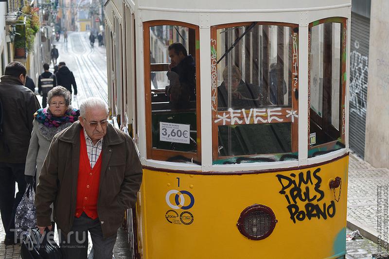 Зимний Лиссабон 2015 / Фото из Португалии