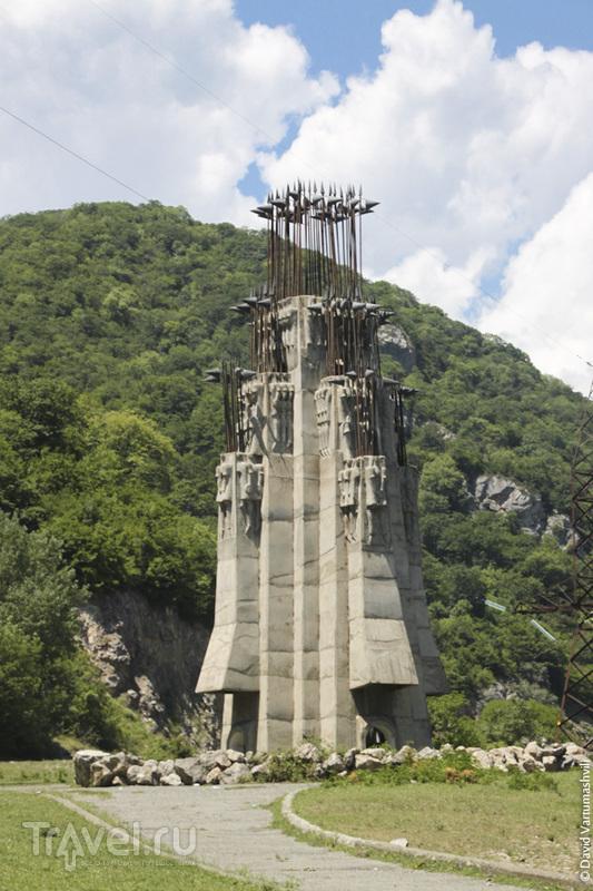 Из России в Грузию: Военно-Грузинская дорога / Фото из России
