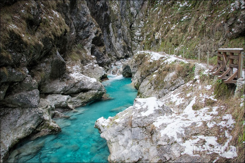 Словения: Толминское ущелье / Фото из Словении