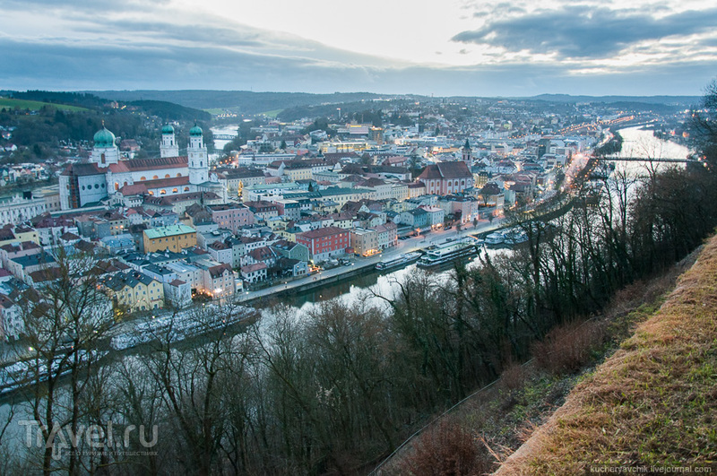 Самый итальянский город Германии - Пассау / Фото из Германии