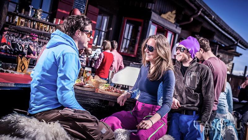 Лыжники - гурманы