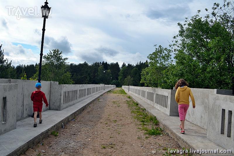 """Чудеса Восточной Пруссии - """"древнеримские"""" арочные мосты в Станчиках / Польша"""