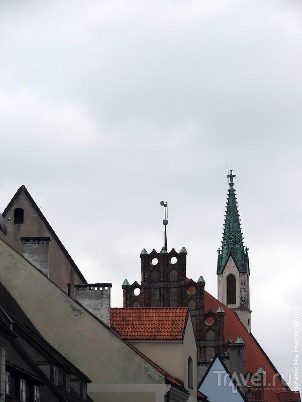 Прогулки по Старой Риге ранней весной / Латвия