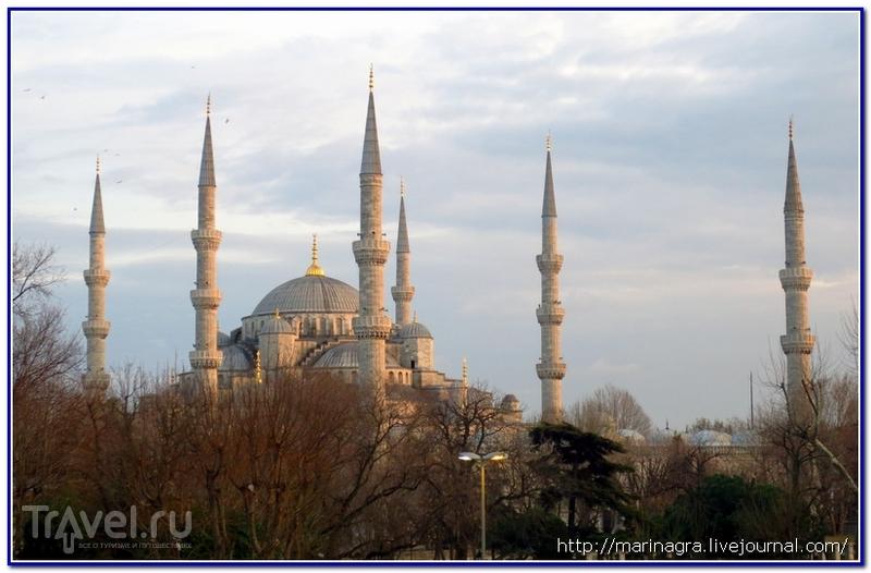 Минареты Стамбула / Турция