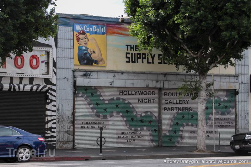 Америка. Лос-Анджелес. Прогулка по Голливуд Бульвару / США