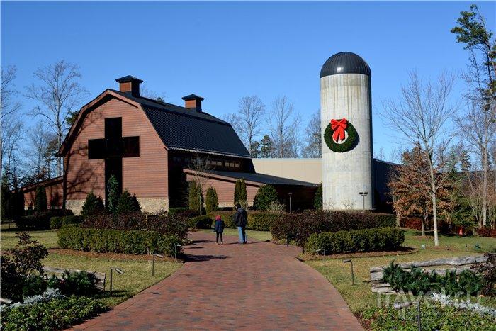 Библиотека Билли Грэма, Charlotte, Северная Каролина / Фото из США