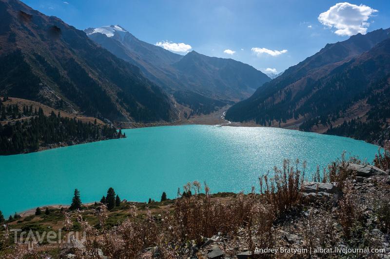 Алматы. Большое Алматинское озеро / Фото из Казахстана