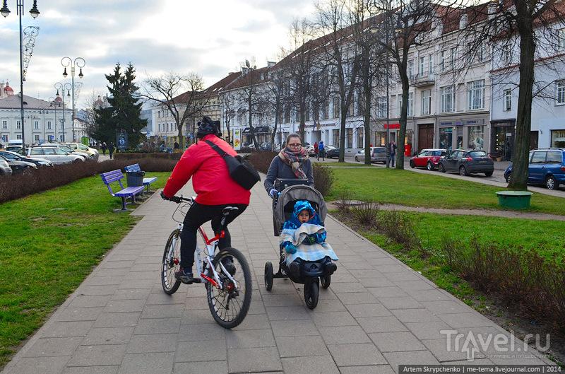 Литва: Вильнюс. Общественный транспорт / Литва