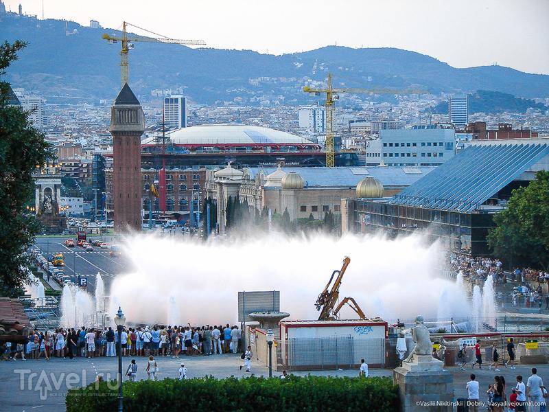 Самый большой фонтан Барселоны / Испания