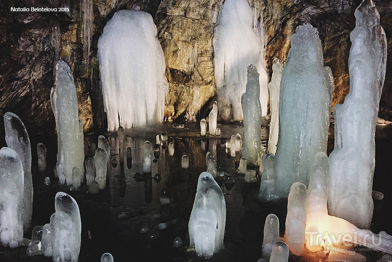 Пещера Ледяного Короля в Мраморном карьере, Рускеала, Карелия / Фото из России