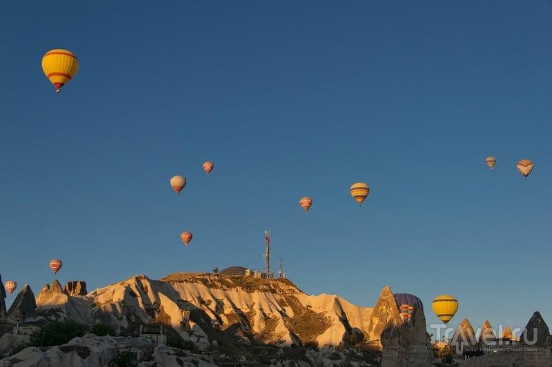 Воздушные шары над Каппадокией / Фото из Турции