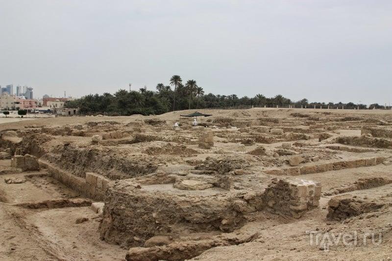 Останки крепости Калат-Аль-Бахрейн
