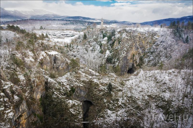 Радиальная вылазка из Любляны: Шкоцьянские пещеры и Пиран / Фото из Словении