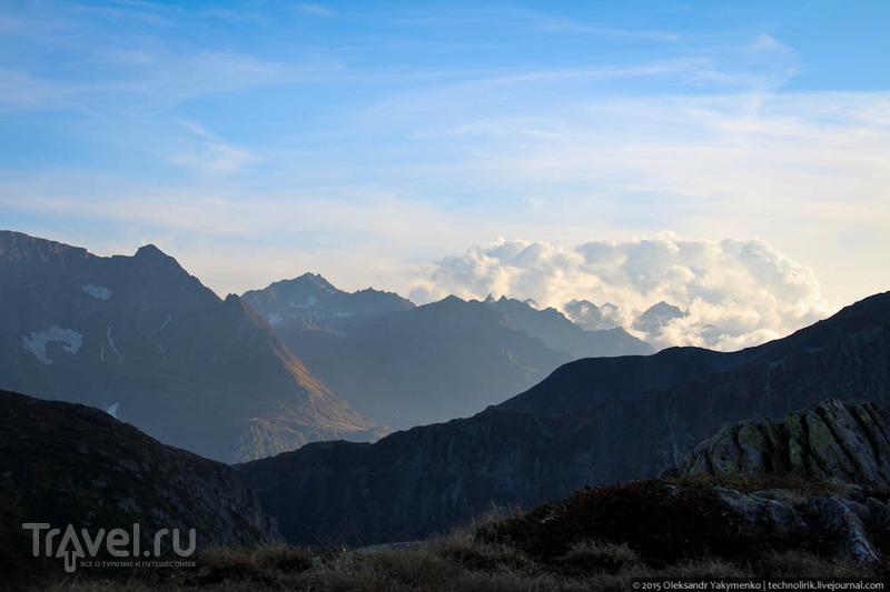 Прогулка в горах / Фото из Швейцарии