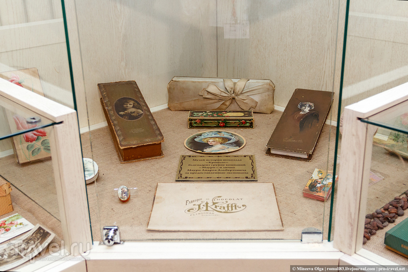 Музей истории шоколада в Кирове / Россия