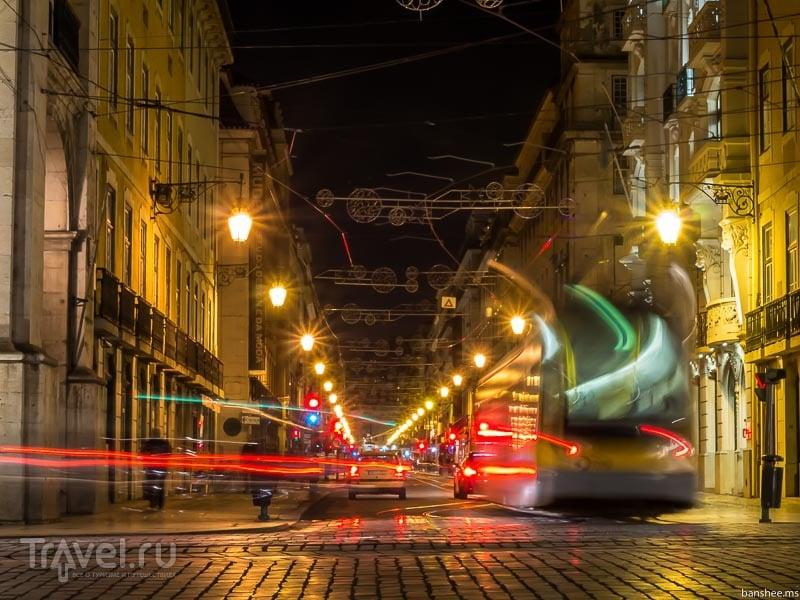 Трамвайный Лиссабон / Фото из Португалии