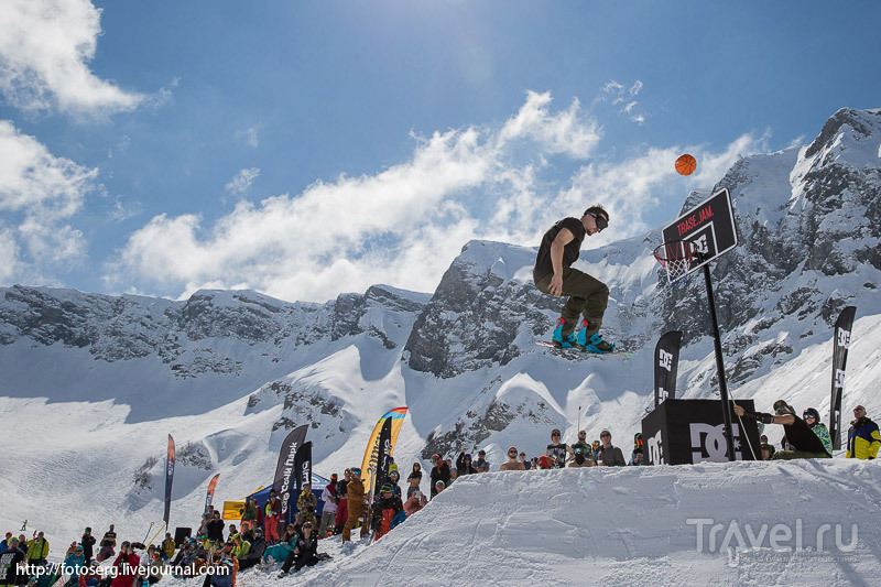 Фестиваль сноуборда Quiksilver New Star Camp 2015 в Сочи / Россия