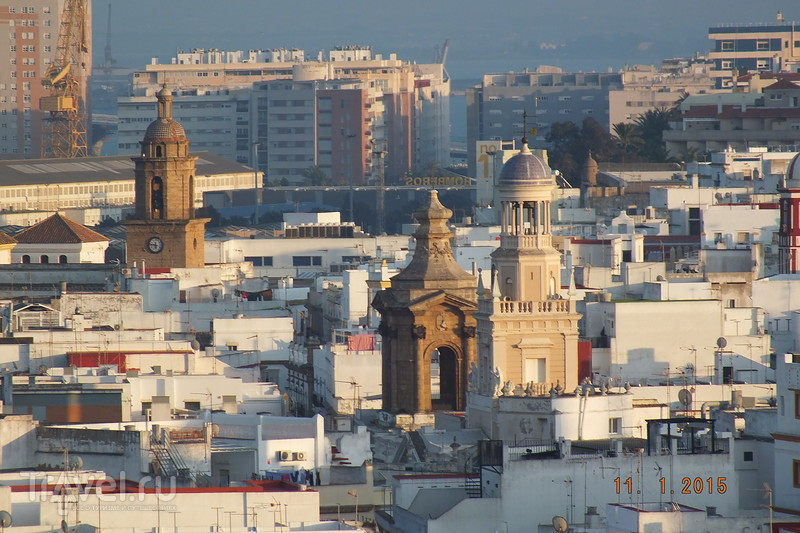 Испания в январе. Кадис / Испания